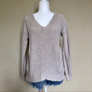 BP Beige Knit Sweater